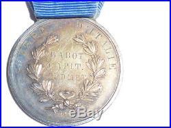 Medaille Valeur Militaire Sardaigne Guerre Italie 1859 Artillerie Collection