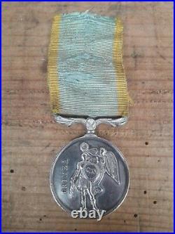 Médaille argent Crimée