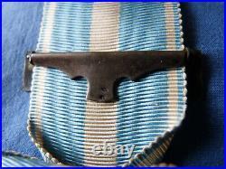 Médaille coloniale agrafe à clapet COCHINCHINE