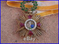 Medaille commandeur isabelle la catholique argent