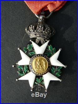 Médaille croix commandeur legion honneur 2 eme empire napoleon