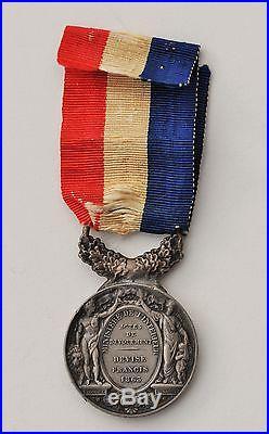 Médaille d'Honneur des actes de Courage et de dévouement, Napoléon III, laurée