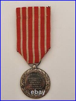 Médaille d'Italie 1859, fabrication privée non signée