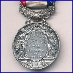 Médaille d'honneur de courage et dévouement III° république intérieur et cultes