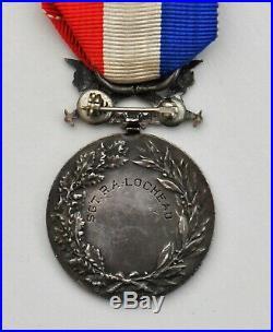 Médaille d'honneur des Affaires Etrangères, avec glaives, en argent, attribuée