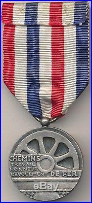 Médaille d'honneur des chemins de fer coloniaux pour l'Indochine