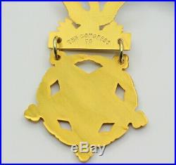 Médaille d'honneur du congrès Army US avec son écrin Reproduction de qualité