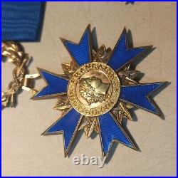 Médaille de Commandeur de LOrdre National Du Mérite ONM Poinçon Collection