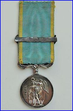 Médaille de Crimée, 1/2 taille, fabrication francaise, bar Sebastopol