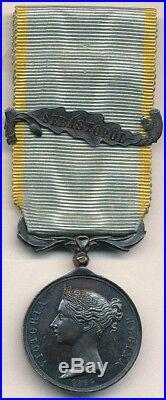 Médaille de Crimée Anglaise 1854, demi-taille