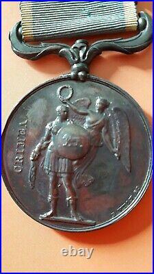 Médaille de Crimée. Second empire. Modèle français Belle patine de médaillier