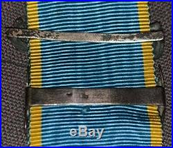 Médaille de Crimée agrafe Sebastopol et Tracktir