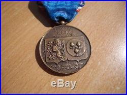 Médaille de Darney anciens combattants Tchèques