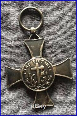 Médaille de Mentana fabrication bijoutier