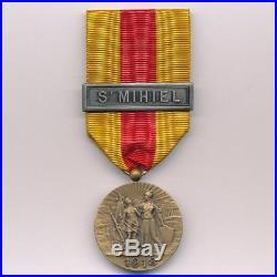 Médaille de Saint Mihiel 1914 1918 par Delande