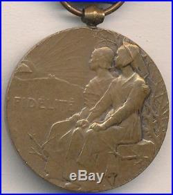 Médaille de la Fidélité Française 1914 1918