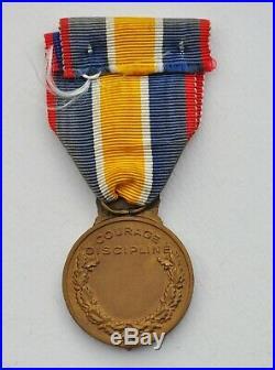 Médaille de la Gendarmerie, frappe ancienne, poinçon de la monnaie de Paris