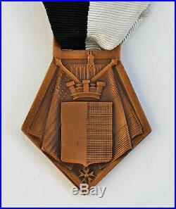 Médaille de la Libération de Metz, 1944, bronze
