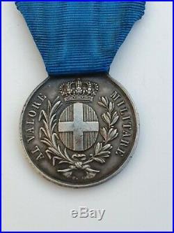 Médaille de la Valeur Militaire, Guerre d'Italie 1859, signée F. G, attribuée