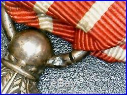 Médaille de la campagne d'Italie 2nd Empire mle dit des Cent-Gardes attribuée