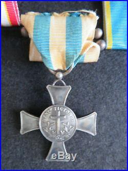 Médaille de la croix de mentana en argent