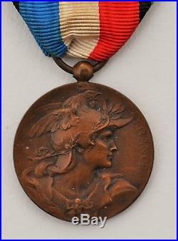 Médaille de la société des vétérans de 1870-1871, variante, attribuée