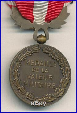 Médaille de la valeur militaire