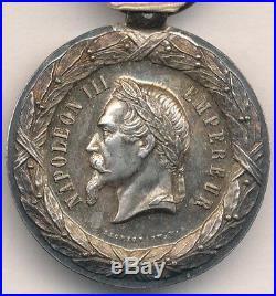 Médaille de lexpédition du Mexique 1862 1863 signée SACRISTAIN. F
