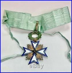 Médaille décoration Ordre de l'étoile Noire du Benin commandeur vermeil