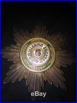 Médaille décoration grand croix ordre de saint Stanislas Russie
