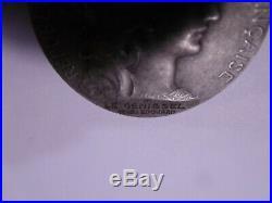 Médaille des Contributions Diverses (Indirectes) Type ALGERIE ARGENT Attribuée