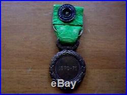 Médaille des Engagés Mineurs de la Guerre 1870/1871