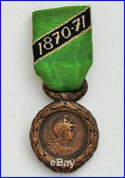 Médaille des Engagés Volontaires Mineurs 1870-1871