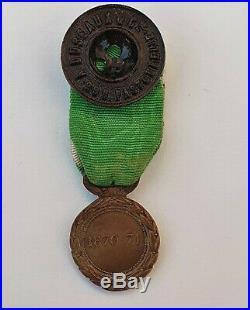 Médaille des Engagés Volontaires Mineurs, 1870/1871, réduction 16 mm