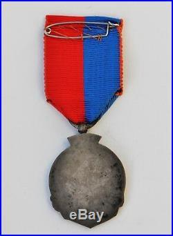 Médaille des anciens Artilleurs et Pontonniers des Mobiles du Rhone, 1870-1871