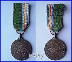 Médaille du 302è RI. Ruban mixte