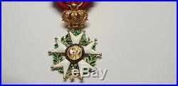 Médaille en Or, Ordre de la Légion d'Honneur, Monarchie de Juillet