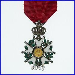 Médaille en demie-taille de lordre de la légion dhonneur dépoque second empir