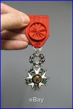 Médaille légion d'honneur/Officier/Fabrication bijouterie/Diamants or & argent