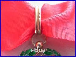 Medaille legion d'honneur commandeur en argent