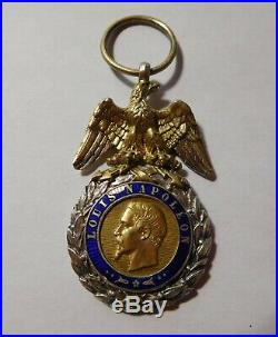 Medaille militaire ancienne Second Empire 2ème Type