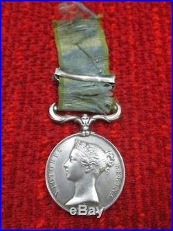 Médaille militaire en Argent VICTORIA REGINA 1854