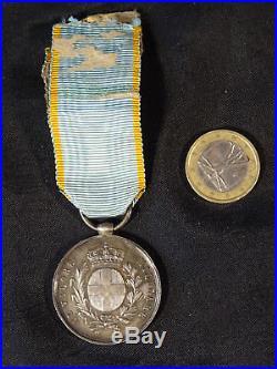 médaille regina victoria en argent