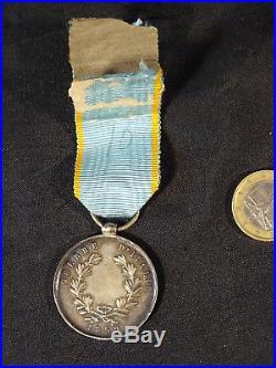 Médaille militaire guerre d'italie1859 argent