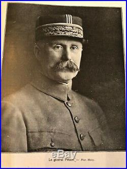 Medaille militaire ordre WW1 Général Petain Verdun Clemenceau Poincaré