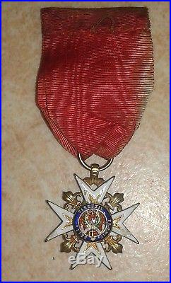Medaille militaire ordre de Saint Louis french medal order