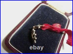 Médaille miniature Officier de la légion d'honneur en or pavé de diamants