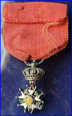 Médaille miniature réduction ordre de la Légion d'Honneur 2eme Restauration