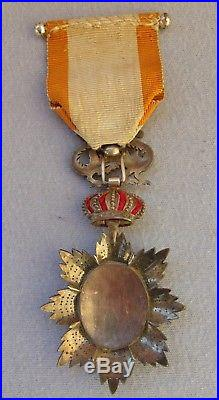 Médaille officier ordre du dragon d'Annam vermeil indo china medal viet-nam