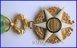 Médaille ordre du Mérite Agricole 1883 Officier OR poinçon aigle Très RARE